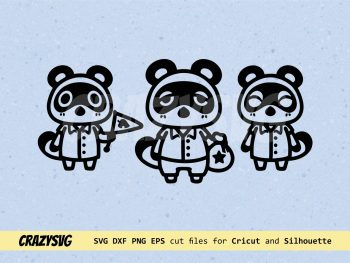 Animal Crossing SVG Timmy Tommy and Tom Nook