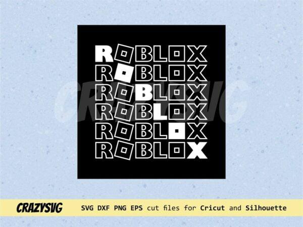 Bioworld Roblox Logo SVG Cricut Roblox Vector