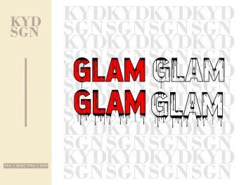 Boss Glam Dripping SVG