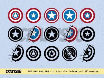 Captain America Shield SVG