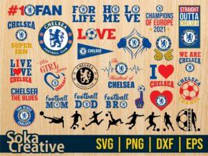 Chelsea SVG Bundle Shirt Design