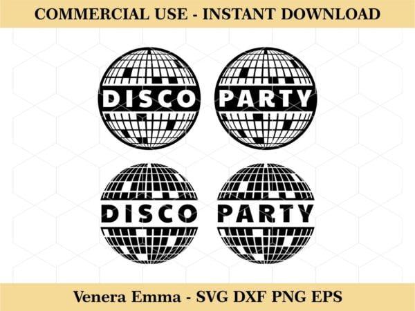Disco Ball Party Vector