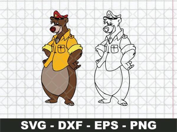 Disney Bear SVG Talespin SVG