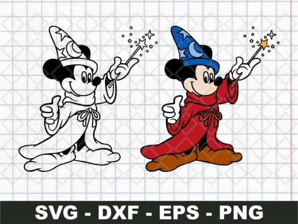 Disney Fantasia SVG