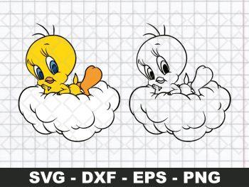 Disney SVG Tweety Bird SVG
