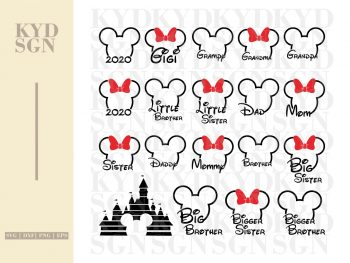 Disney Trip Shirts Design SVG Bundle