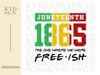 Juneteenth SVG Freedom Day SVG 1865 SVG