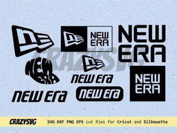 New Era Logo SVG Bundle Vector PNG