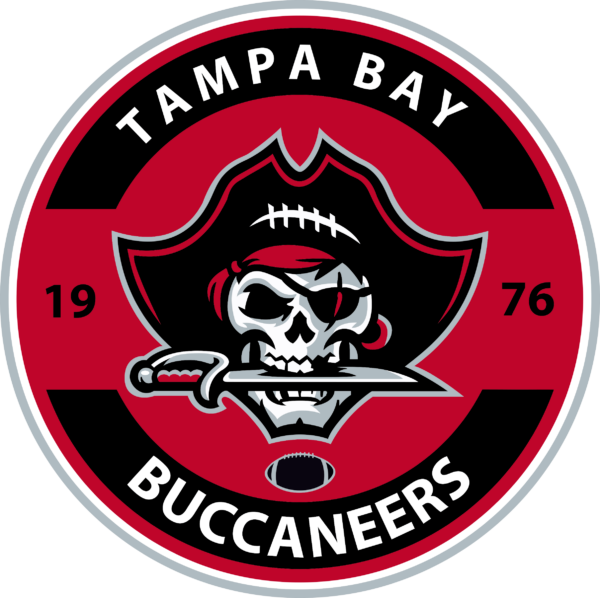 TBB 07 Vectorency Tampa Bay Buccaneers SVG Files For Silhouette, Files For Cricut, SVG, DXF, EPS, PNG Instant Download.