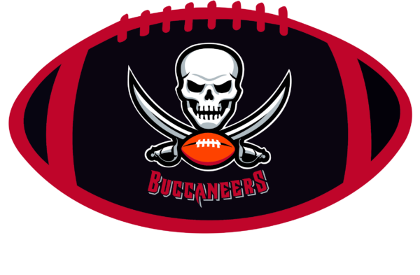 TBB 08 Vectorency Tampa Bay Buccaneers SVG Files For Silhouette, Files For Cricut, SVG, DXF, EPS, PNG Instant Download.