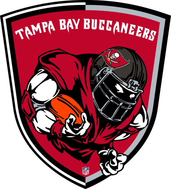 TBB 11 Vectorency Tampa Bay Buccaneers SVG Files For Silhouette, Files For Cricut, SVG, DXF, EPS, PNG Instant Download.