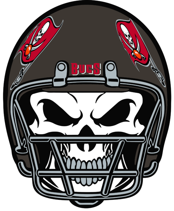 TBB 15 Vectorency Tampa Bay Buccaneers SVG Files For Silhouette, Files For Cricut, SVG, DXF, EPS, PNG Instant Download.