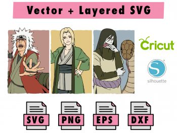 THMBNL Vectorency Anime SVG
