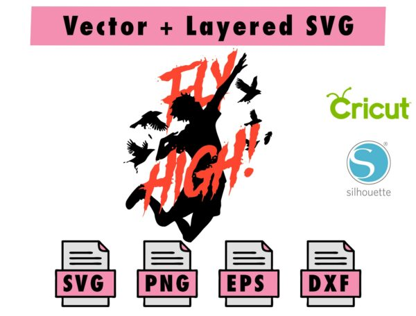 THUMBNAIL 3 Vectorency Haikyuu svg , png , dxf , eps file for cricut and silhouette machine