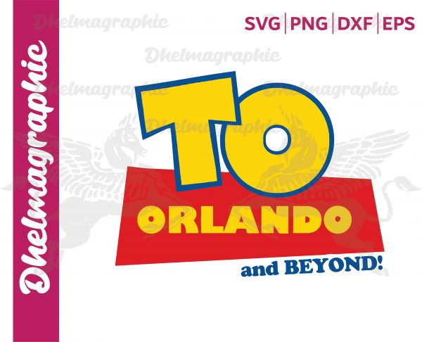 To Orlando and Beyond Vacation Trip Vectorency To Orlando and Beyond Vacation Trip SVG