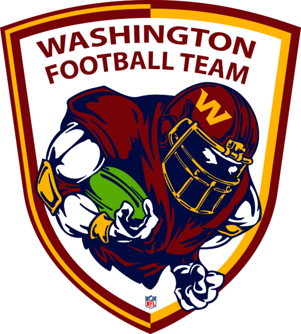 WFT 04 Vectorency Washington Football Team SVG Files For Silhouette, Files For Cricut, SVG, DXF, EPS, PNG Instant Download.