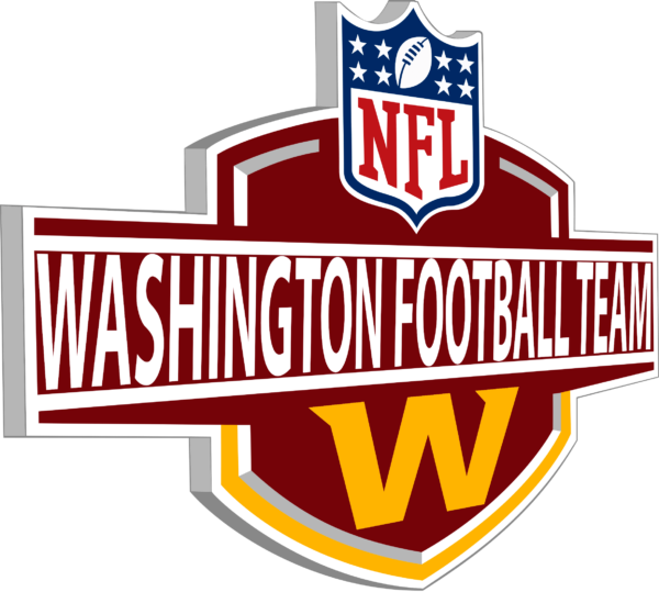 WFT 05 Vectorency Washington Football Team SVG Files For Silhouette, Files For Cricut, SVG, DXF, EPS, PNG Instant Download.