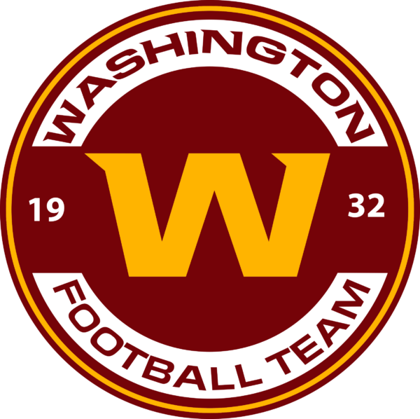 WFT 10 Vectorency Washington Football Team SVG Files For Silhouette, Files For Cricut, SVG, DXF, EPS, PNG Instant Download.