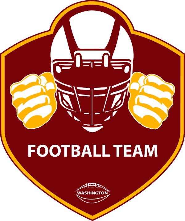 WFT 14 Vectorency Washington Football Team SVG Files For Silhouette, Files For Cricut, SVG, DXF, EPS, PNG Instant Download.