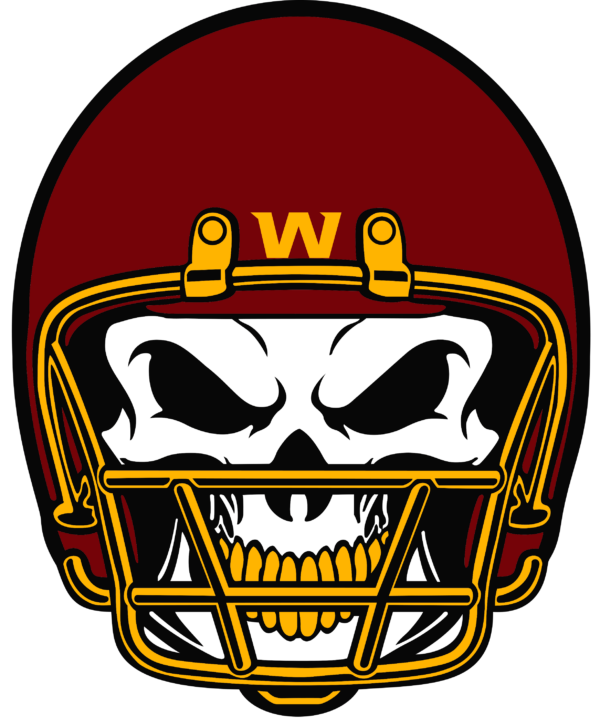 WFT 15 Vectorency Washington Football Team SVG Files For Silhouette, Files For Cricut, SVG, DXF, EPS, PNG Instant Download.