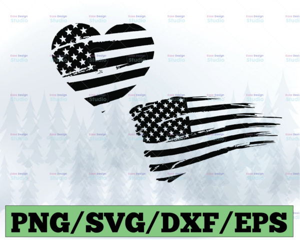 WTMETSY13012021 03 10 Vectorency American Flag SVG, 4th of July SVG, Distressed Flag SVG, Fourth of July SVG, Grunge Flag SVG, Patriotic SVG Printable, Cricut & Silhouette