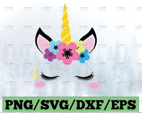 WTMETSY13012021 03 38 Vectorency Unicorn SVG, Unicorn Head SVG, Unicorn Clip Art, Unicorn Face SVG, Cute Unicorn SVG, Cricut, Silhouette Cut File Chevron