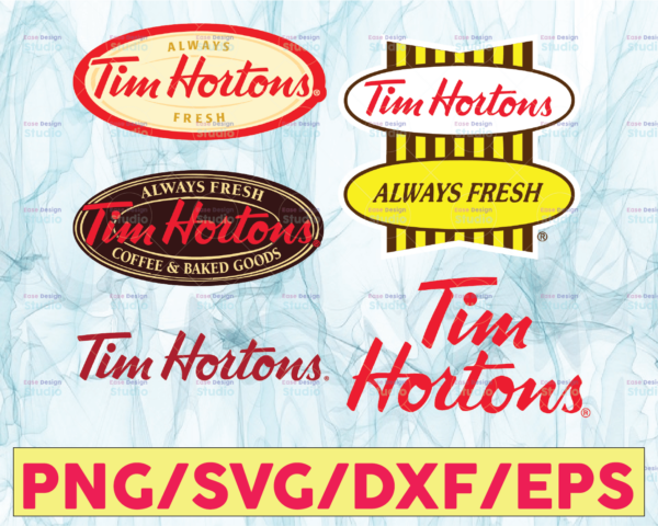 WTMETSY13012021 05 12 Vectorency Tim Hortons Logo Bundle SVG, PNG, JPG - Ready To Use, Instant Download, Silhouette Cutting Files