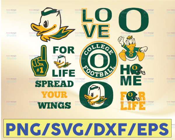 WTMETSY16032021 09 34 Vectorency Spread Your Wings Football SVG, Football SVG, Silhouette SVG, Cut Files, College Football SVG, NCAA Logo SVG