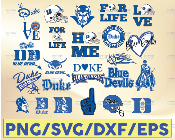 WTMETSY16032021 09 5 Vectorency Duke Blue Devils, Duke Blue Devil SVG, Duke Blue Devil clipart, Duke Blue Devil cricut, Football SVG, NCAA Sports SVG PNG DXF EPS