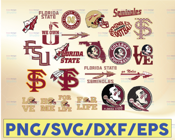 WTMETSY16032021 09 7 Vectorency Florida State Seminoles, Florida State Seminoles SVG, Florida State Seminoles clipart, Florida State Seminoles cricut, Football SVG, Football Team SVG, NCAA