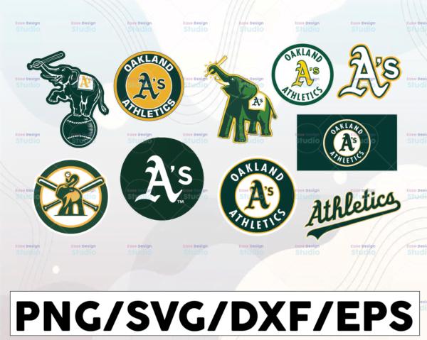 WTMETSY16032021 1 01 11 Vectorency Oakland Athletics Cut Files, SVG Files, Baseball Clipart, Cricut Oakland Athletics Cutting Files, Baseball DXF, Clipart, Instant Download