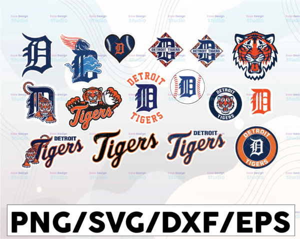WTMETSY16032021 1 01 12 Vectorency Detroit Tigers SVG Cut Files, SVG Files, Baseball Clipart, Cricut Detroit Tigers Cutting Files, Baseball DXF, Clipart, Instant Download