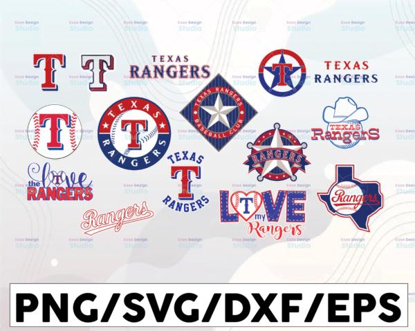 WTMETSY16032021 1 01 14 Vectorency Texas Rangers SVG Cut Files, SVG Files, Baseball Clipart, Cricut Texas Rangers, Cutting Files, Baseball DXF, Clipart, Instant Download