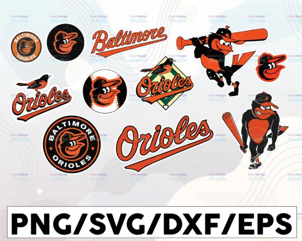 WTMETSY16032021 1 01 17 Vectorency Baltimore Orioles SVG Cut Files, SVG Files, Baseball Clipart, Cricut Baltimore Orioles Cutting Files, Baseball DXF, Clipart, Instant Download