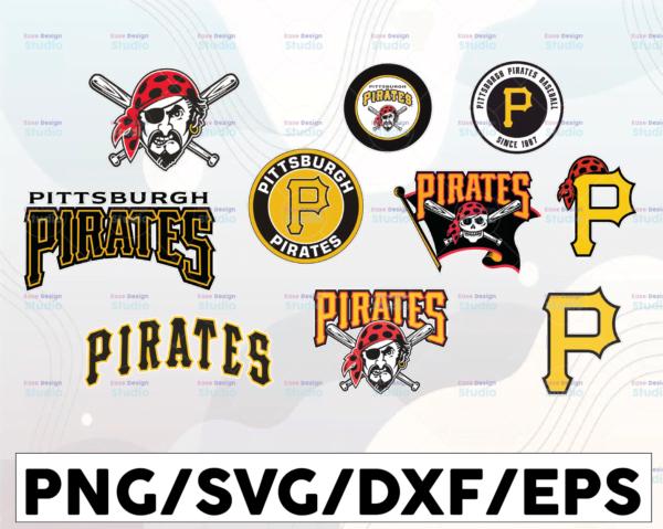 WTMETSY16032021 1 01 19 Vectorency Pittsburgh Pirates SVG Cut Files, SVG Files, Baseball Clipart, Cricut Pittsburgh Pirates Cutting Files, Baseball DXF, Clipart, Instant Download