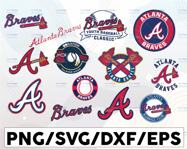 WTMETSY16032021 1 01 20 Vectorency Atlanta Braves SVG Cut Files, SVG Files, Baseball Clipart, Cricut contains dxf, eps, svg, jpg, png and pdf files. Instant Download