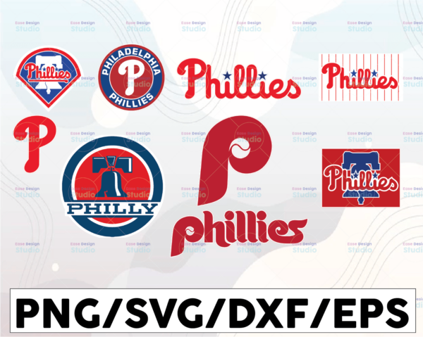 WTMETSY16032021 1 01 26 Vectorency Philadelphia Phillies SVG Cut Files, SVG Files, Baseball Clipart, Cricut Phillies Cutting Files, Baseball DXF, Clipart, Instant Download