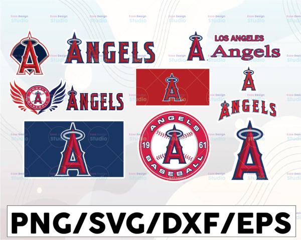 WTMETSY16032021 1 01 27 Vectorency Los Angeles Angels SVG Files, Baseball Clipart, Cricut Los Angeles ,Cutting Files, Baseball DXF, Clipart, Instant Download