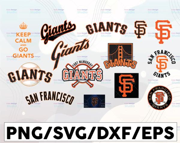 WTMETSY16032021 1 01 4 Vectorency San Francisco Giants SVG Cut Files, SVG Files, Baseball Clipart, Cricut Giants Cutting Files, Baseball DXF, Clipart, Instant Download