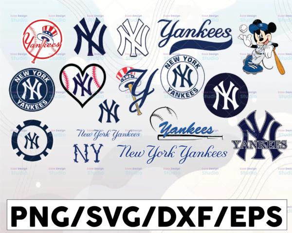 WTMETSY16032021 1 01 Vectorency New York Yankees SVG, Yankees Team SVG, Yankees SVG, Yankees, Yankees DXF, American League MLB, MLB SVG, Baseball Font, Baseball Clipart