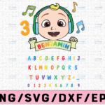 WTMETSY16122020 02 1 Vectorency Cocomelon Logo And Full Alphabets Birthday SVG/PNG, Cocomelon Birthday SVG/PNG ,Cocomelon Family Birthday PNG, Watermelon SVG PNG EPS JPG DXF