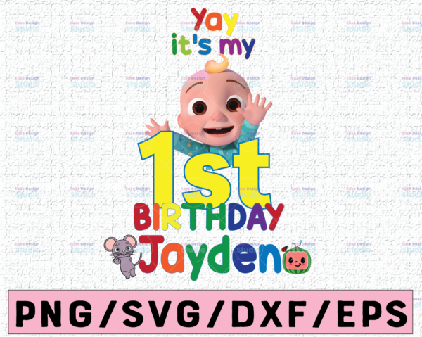 WTMETSY16122020 02 20 Vectorency Cocomelon Personalized Name And Ages Birthday PNG, Cocomelon Birthday PNG, Cocomelon Family Birthday PNG, Watermelon Only PNG JPG