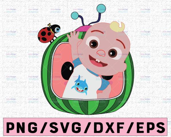 WTMETSY16122020 02 37 Vectorency Cocomelon JJ SVG, Coco Melon SVG, Cocomelon Logo SVG Cut File