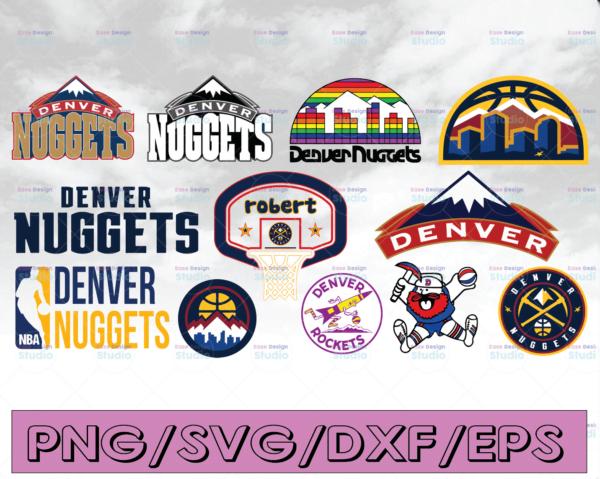 WTMETSY16122020 04 12 Vectorency NBA Denver Nuggets, Denver Nuggets SVG, Basketball Bundle SVG, PNG, DXF, EPS