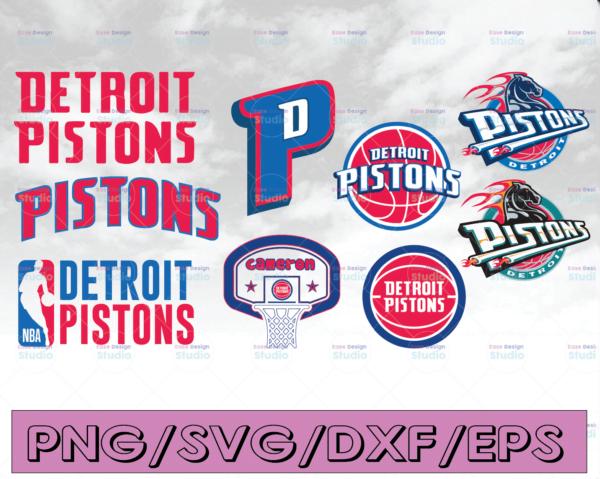 WTMETSY16122020 04 16 Vectorency Detroit Pistons SVG, Pistons, NBA, Silhouette Cut File, Cricut Cut File, Pistons SVG, Cut File, Detroit Pistons SVG