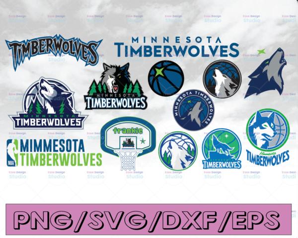 WTMETSY16122020 04 20 Vectorency NBA Minnesota timberwolves, NBA, Silhouette Cut File, Cricut Cut File, Hawks svg, cut file