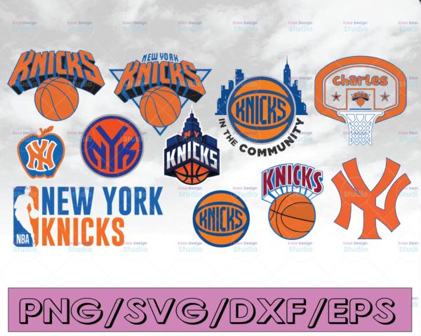 WTMETSY16122020 04 22 Vectorency NBA Logo New York Knicks National Basketball, basketball svg,svg,png,dxf,eps
