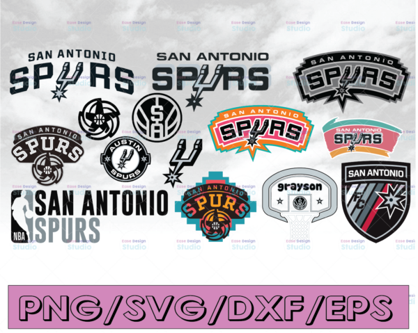WTMETSY16122020 04 28 Vectorency San Antonio Spurs SVG, NBA Basketball Bundle SVG, PNG, DXF, EPS