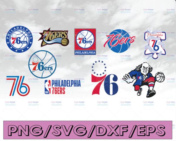 WTMETSY16122020 04 5 Vectorency NBA Logo, Philadelphia 76ers, Philadelphia 76ers SVG, 76ers SVG, Basketball Bundle SVG For Cricut, SVG For Silhouette