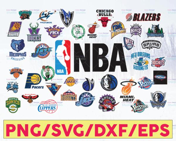 WTMETSY16122020 05 57 Vectorency NBA Logo Bundle SVG, NBA SVG, Basketball SVG, PNG, SVG, JPG, EPS, DXF, Digital Download, Digital Design